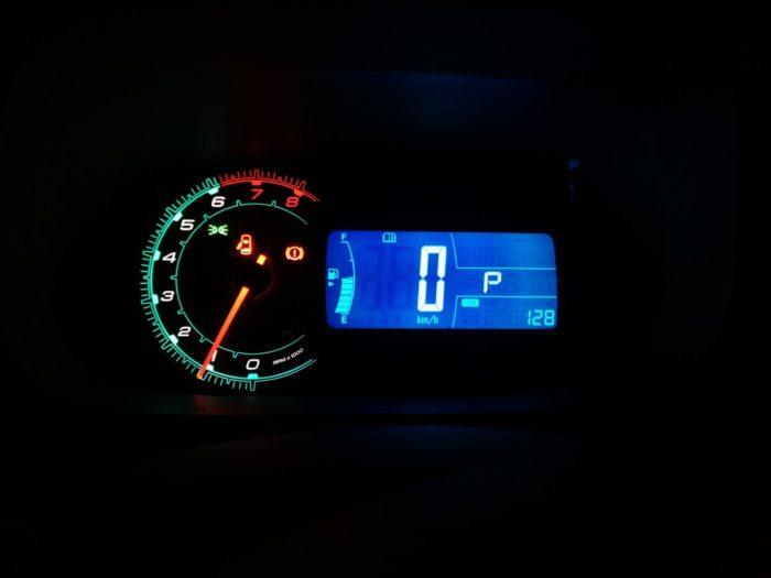 Информационное сообщение или ошибка на приборной панели Chevrolet Cobalt и Ravon R4
