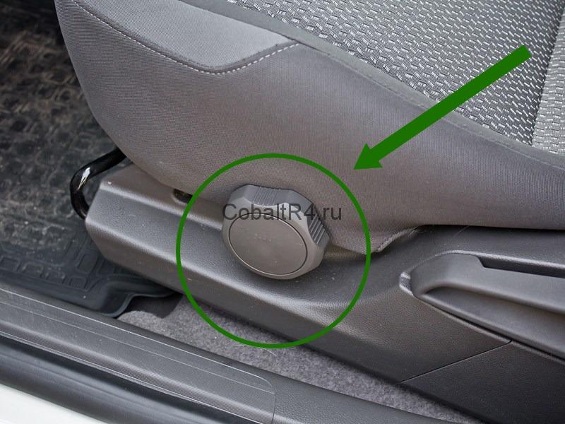 Регулятор высоты подушки сиденья Chevrolet Cobalt и Ravon R4