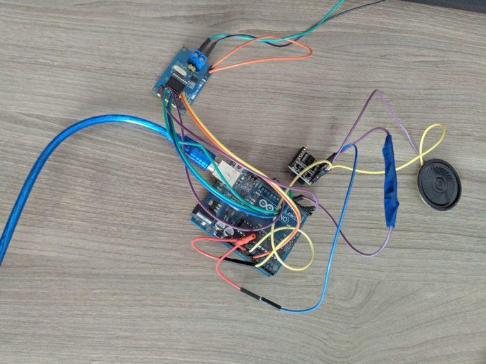 Arduino UNO, MCP2515, DFPlayer Mini - комплект для декодера CAN шины автомобилей Chevrolet Cobalt и Ravon R4