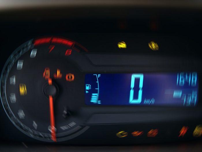 Chevrolet Cobalt / Ravon R4 - приборная панель