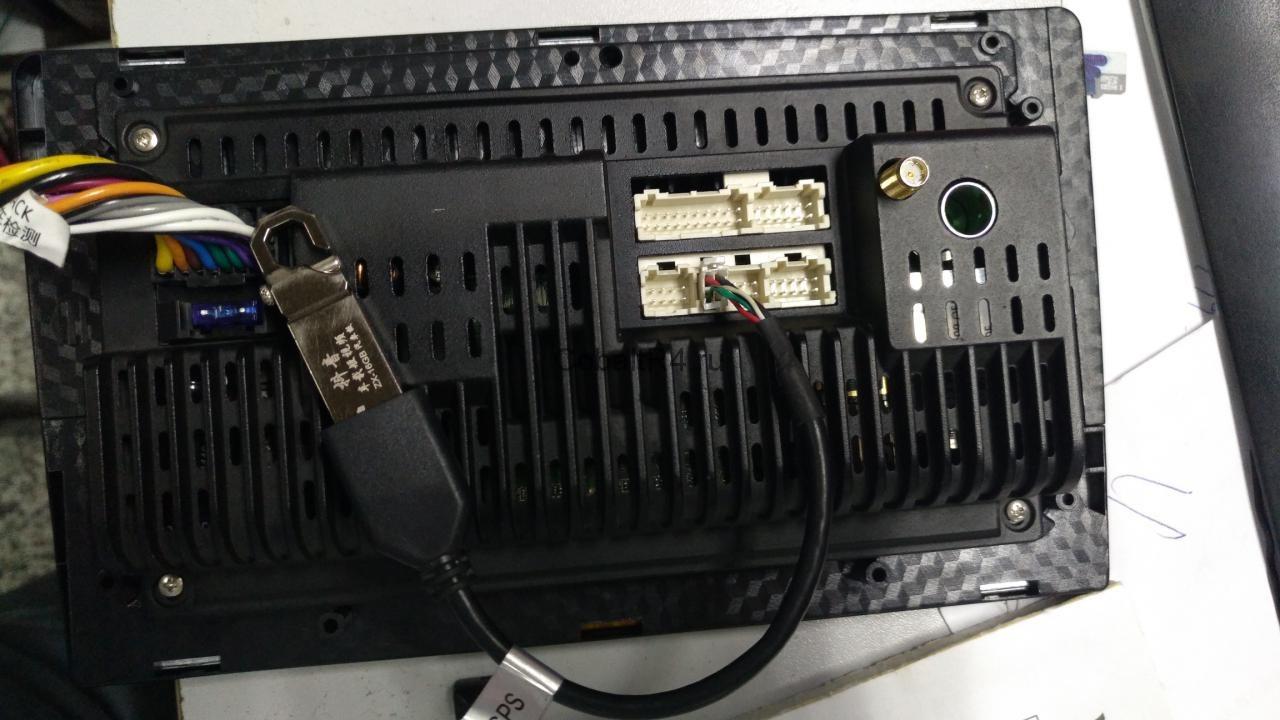 Подключение USB флешки с файлами прошивки AllWinner T3 P1